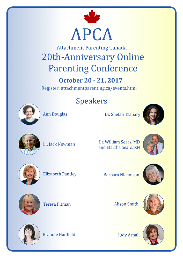 attachment parenting canada conference recordings