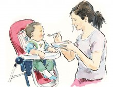 Attachment parenting feeding